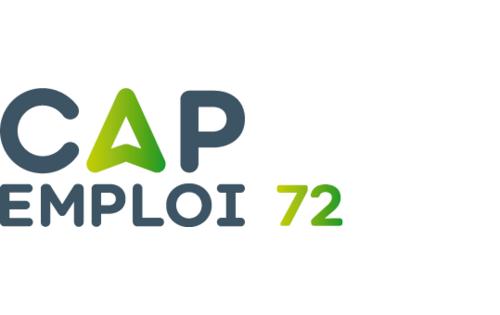 Logo Cap emploi 72 Sarthe, Le Mans (Réseau Cap emploi)